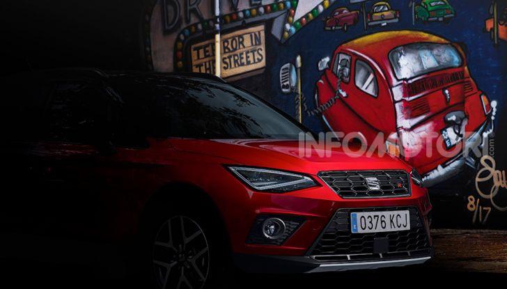 Nuova Seat Arona TGI: il primo SUV/Crossover a Metano - Foto 12 di 15