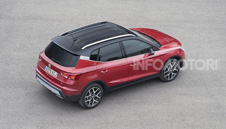 Nuova Seat Arona TGI: il primo SUV/Crossover a Metano - Foto 5 di 15