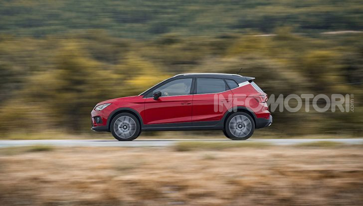 Nuova Seat Arona TGI: il primo SUV/Crossover a Metano - Foto 6 di 15