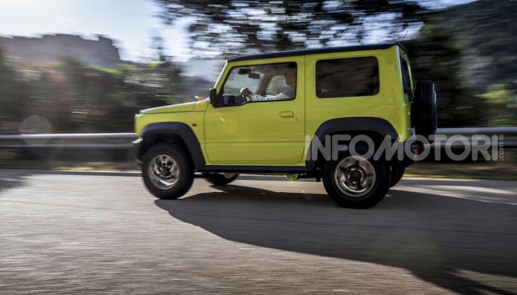Prova nuova Suzuki Jimny 2018: il fuoristrada senza limiti Made in Japan - Foto 15 di 31