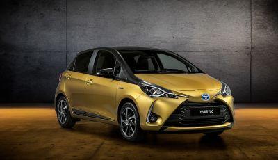 Toyota Yaris Y20 2019, la best seller si rinnova e festeggia vent'anni