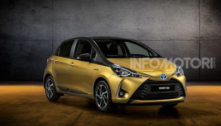 Toyota Yaris Y20 2019, la best seller si rinnova e festeggia vent'anni - Foto 1 di 4