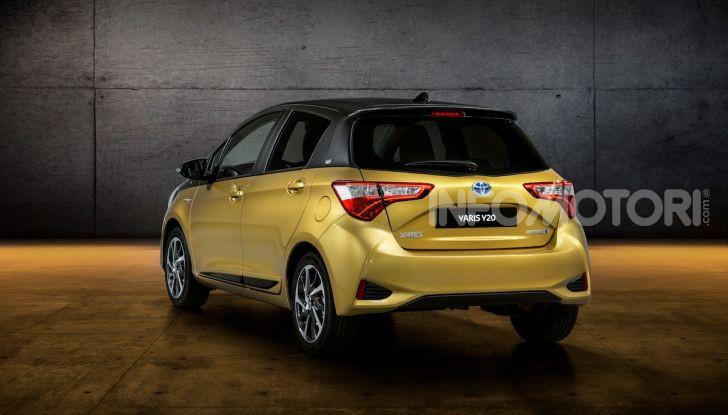Toyota Yaris Y20 2019, la best seller si rinnova e festeggia vent'anni - Foto 4 di 4