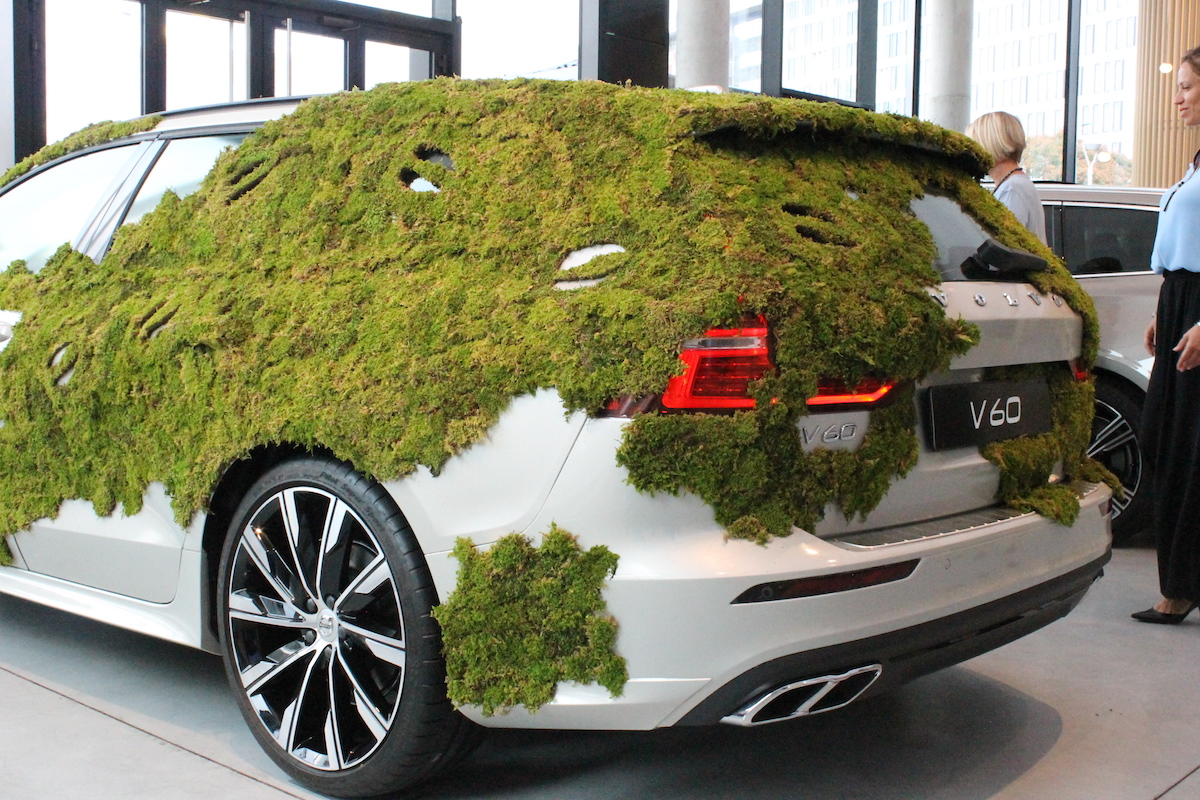 Volvo V60 Plasticless Milano