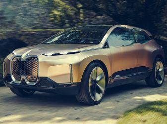 BMW Vision iNext, il crossover elettrico del futuro