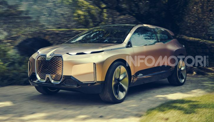 BMW Vision iNext, il crossover elettrico del futuro - Foto 1 di 14