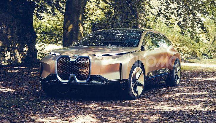 BMW Vision iNext, il crossover elettrico del futuro - Foto 9 di 14