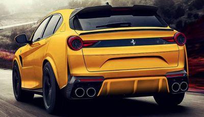 Ferrari Purosangue, il SUV Ferrari arriva nel 2022