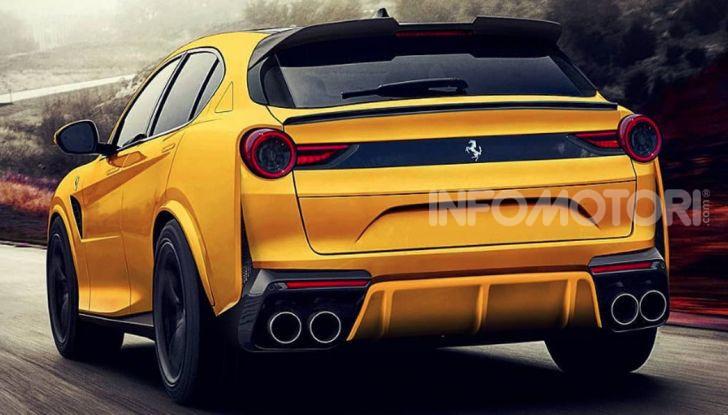 Ferrari Purosangue, il SUV Ferrari arriva nel 2022 - Foto 1 di 7