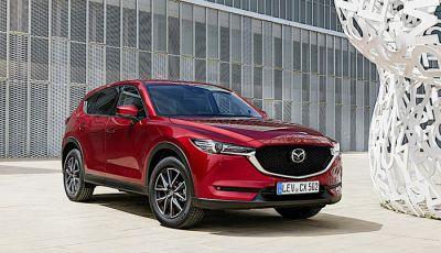 Nuova Mazda CX-5 con motori benzina e Diesel Euro 6d-Temp