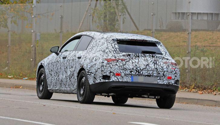 Mercedes Benz CLA Shooting Brake 2020 prime informazioni tecniche - Foto 3 di 9