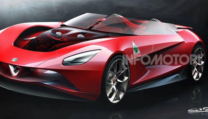 Alfa Romeo 6C Biposto Vision Gran Turismo - Foto 1 di 5