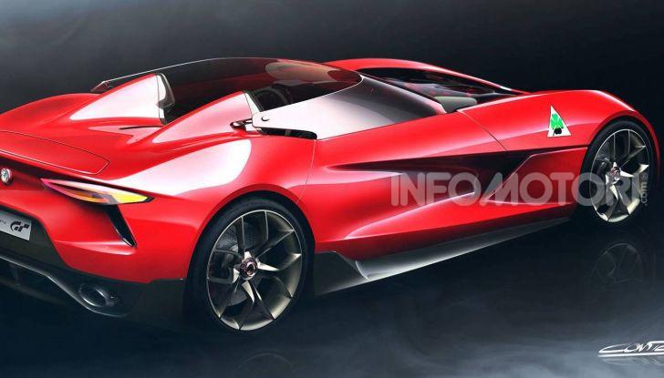 Alfa Romeo 6C Biposto Vision Gran Turismo - Foto 2 di 5