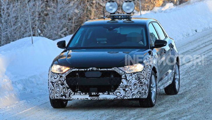 Audi A1 Allroad, primi collaudi e informazioni tecniche - Foto 5 di 21
