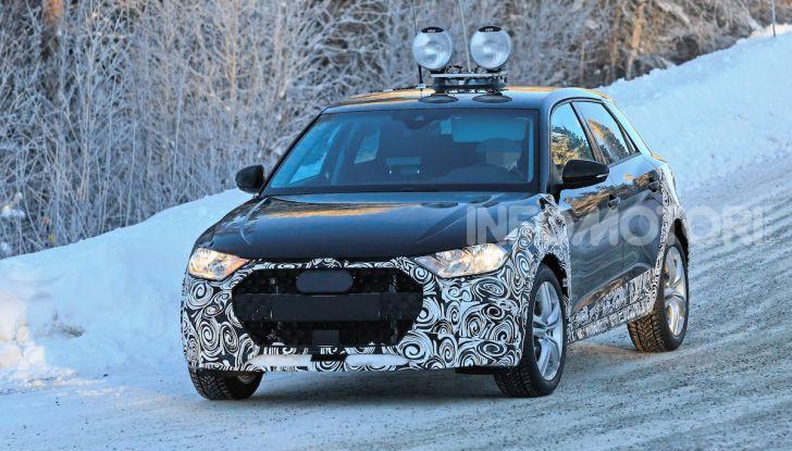 Audi A1 Allroad, primi collaudi e informazioni tecniche - Foto 7 di 21