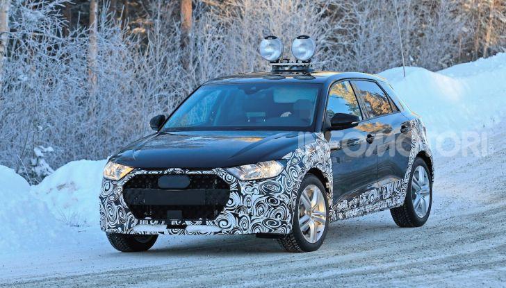 Audi A1 Allroad, primi collaudi e informazioni tecniche - Foto 1 di 21