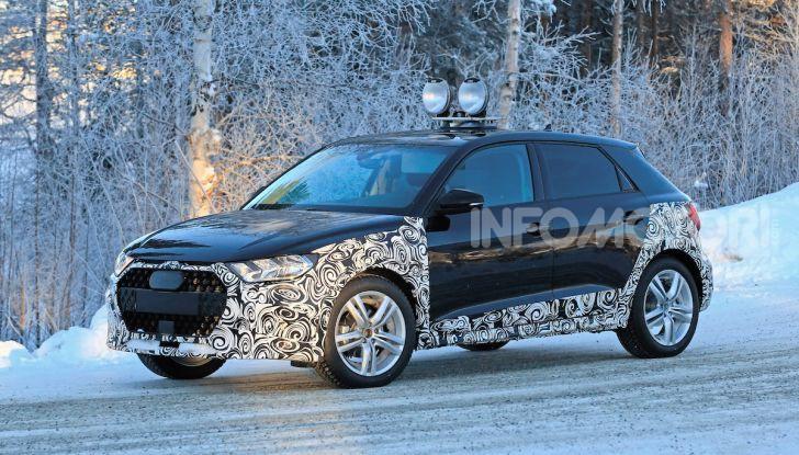 Audi A1 Allroad, primi collaudi e informazioni tecniche - Foto 2 di 21