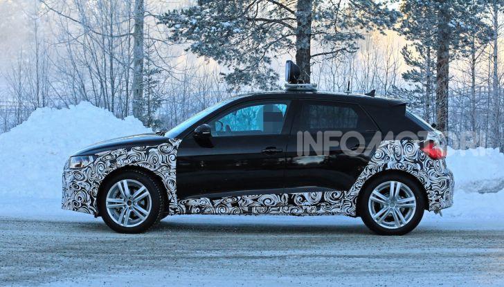 Audi A1 Allroad, primi collaudi e informazioni tecniche - Foto 3 di 21