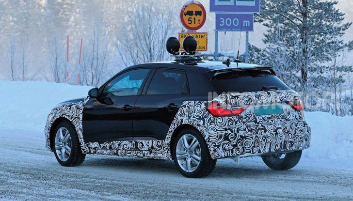 Audi A1 Allroad, primi collaudi e informazioni tecniche - Foto 8 di 21