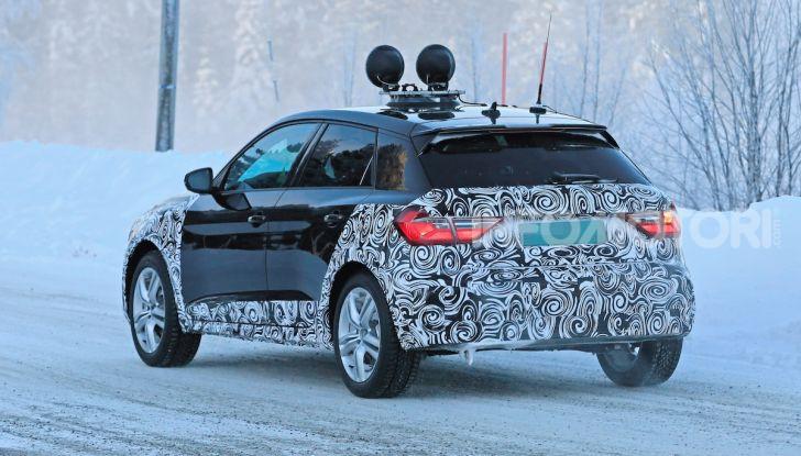 Audi A1 Allroad, primi collaudi e informazioni tecniche - Foto 9 di 21