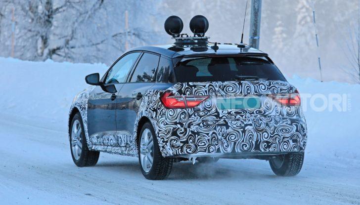 Audi A1 Allroad, primi collaudi e informazioni tecniche - Foto 6 di 21