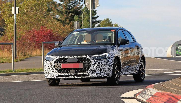 Audi A1 Allroad, primi collaudi e informazioni tecniche - Foto 11 di 21