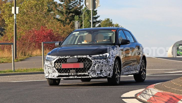 Audi A1 Allroad, primi collaudi e informazioni tecniche - Foto 2 di 12