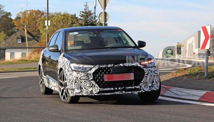 Audi A1 Allroad, primi collaudi e informazioni tecniche - Foto 13 di 21
