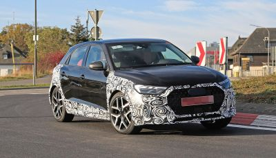 Audi A1 Allroad, primi collaudi e informazioni tecniche