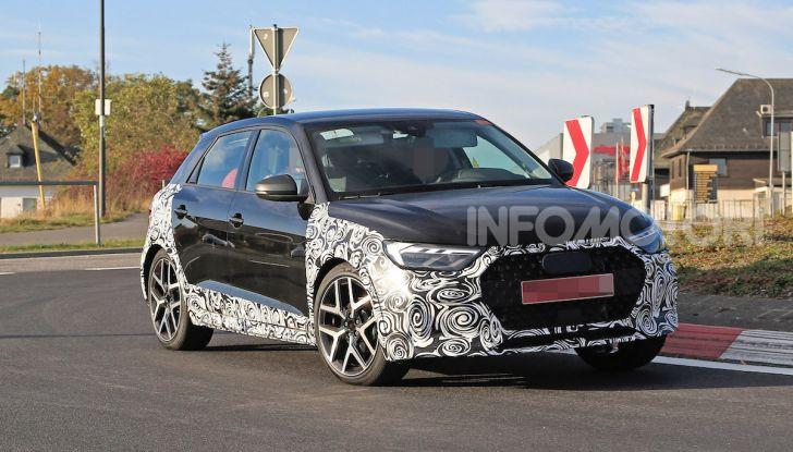 Audi A1 Allroad, primi collaudi e informazioni tecniche - Foto 1 di 12