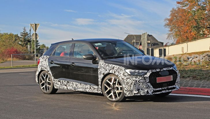Audi A1 Allroad, primi collaudi e informazioni tecniche - Foto 14 di 21