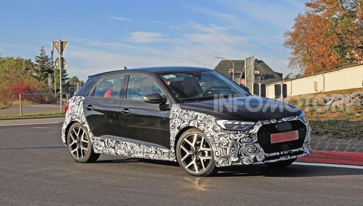 Audi A1 Allroad, primi collaudi e informazioni tecniche - Foto 5 di 12