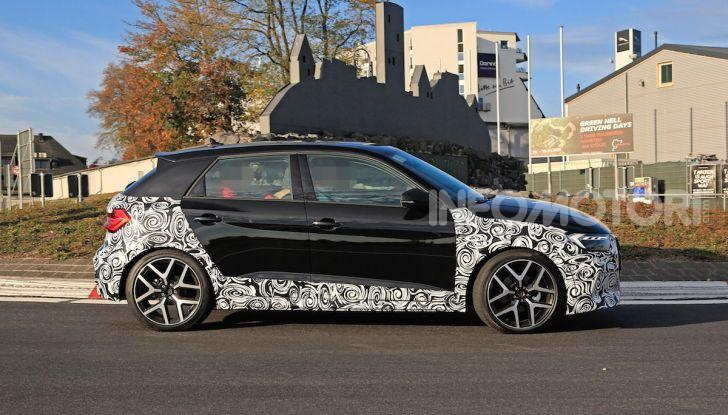 Audi A1 Allroad, primi collaudi e informazioni tecniche - Foto 7 di 12