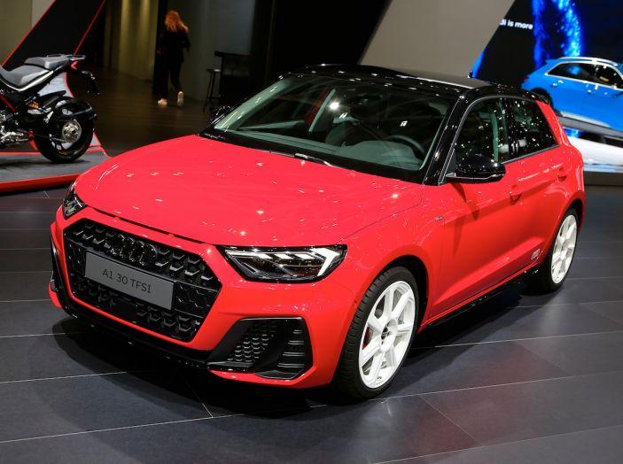 Nuova Audi A1 Sportback, listino prezzi e dotazioni