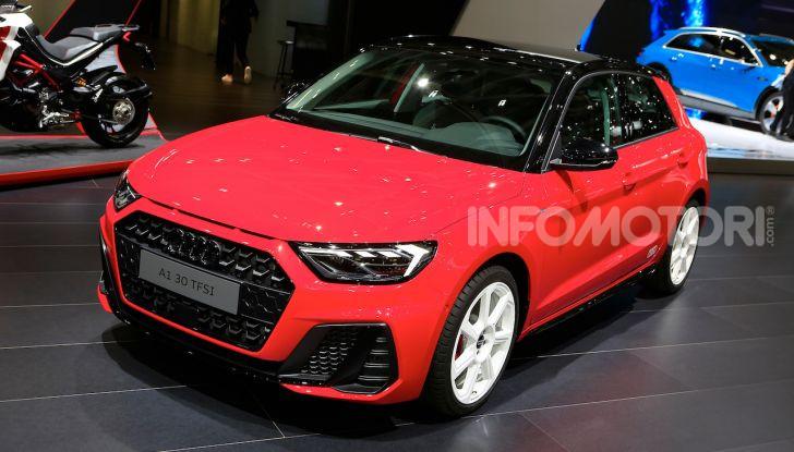 Nuova Audi A1 Sportback, listino prezzi e dotazioni - Foto 1 di 16