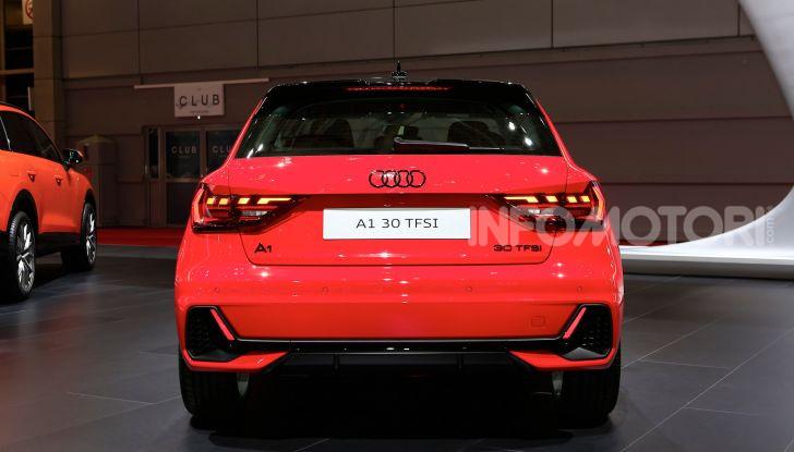 Nuova Audi A1 Sportback, listino prezzi e dotazioni - Foto 10 di 16