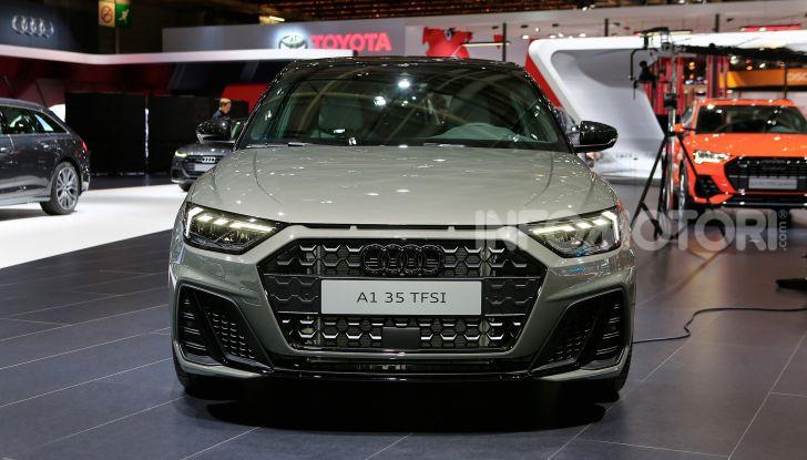 Nuova Audi A1 Sportback, listino prezzi e dotazioni - Foto 13 di 16