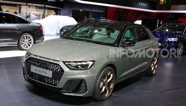 Nuova Audi A1 Sportback, listino prezzi e dotazioni - Foto 14 di 16