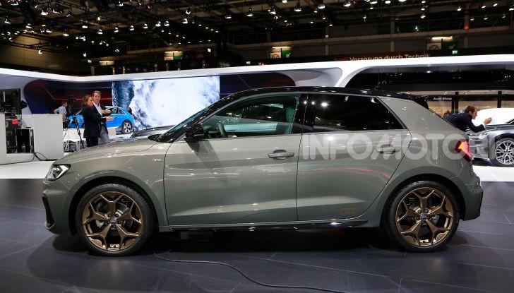 Nuova Audi A1 Sportback, listino prezzi e dotazioni - Foto 15 di 16