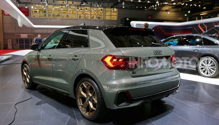 Nuova Audi A1 Sportback, listino prezzi e dotazioni - Foto 16 di 16