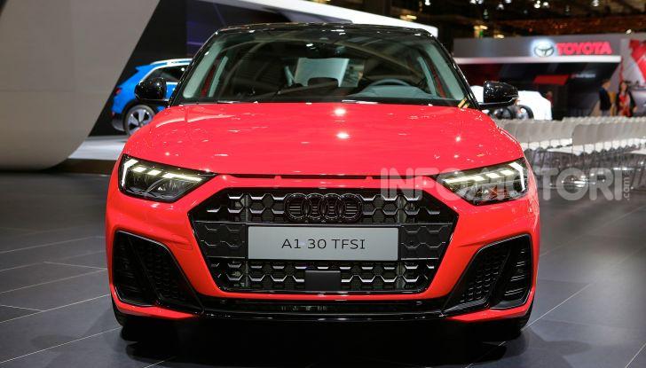 Nuova Audi A1 Sportback, listino prezzi e dotazioni - Foto 2 di 16