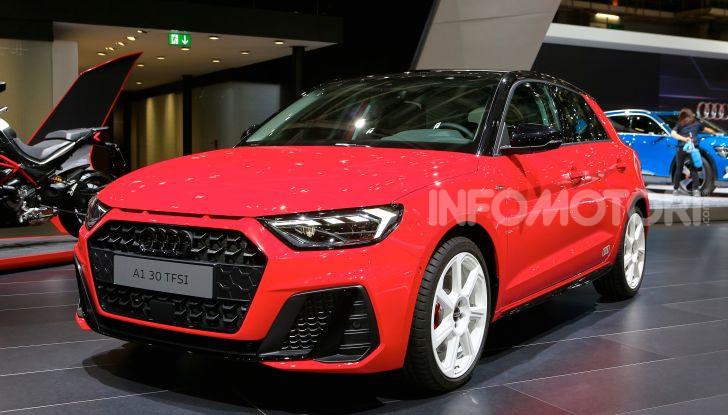Nuova Audi A1 Sportback, listino prezzi e dotazioni - Foto 3 di 16