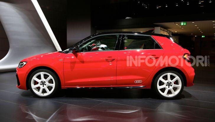 Nuova Audi A1 Sportback, listino prezzi e dotazioni - Foto 4 di 16