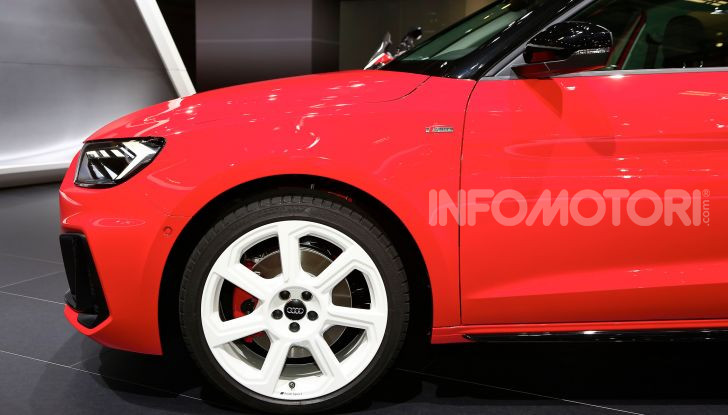 Nuova Audi A1 Sportback, listino prezzi e dotazioni - Foto 5 di 16