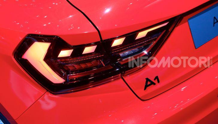 Nuova Audi A1 Sportback, listino prezzi e dotazioni - Foto 8 di 16