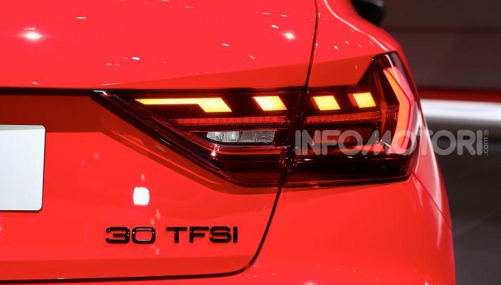 Nuova Audi A1 Sportback, listino prezzi e dotazioni - Foto 9 di 16
