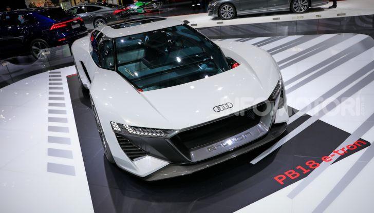 Audi PB18 e-tron, coupé elettrica da 680 CV - Foto 18 di 23