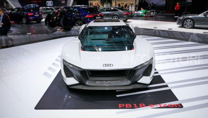 Audi PB18 e-tron, coupé elettrica da 680 CV - Foto 19 di 23