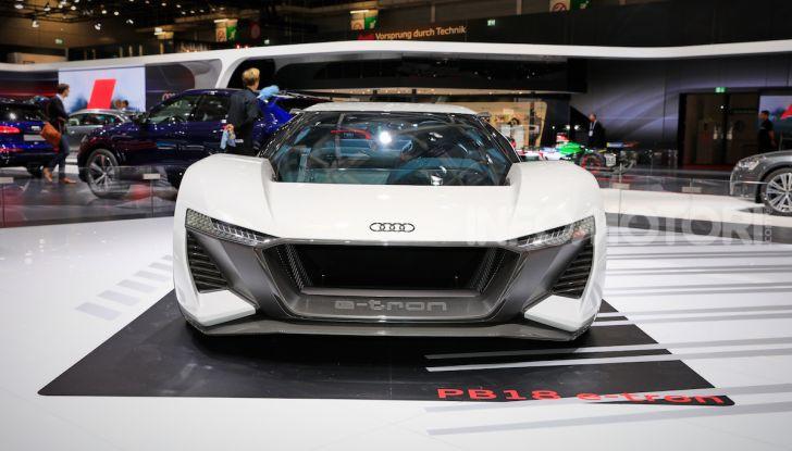 Audi PB18 e-tron, coupé elettrica da 680 CV - Foto 2 di 23