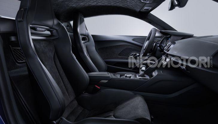 Nuova Audi R8 2019 Coupé e Spider: il V10 aspirato arriva a 620CV - Foto 24 di 30